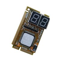 100set / lot 3 en 1 Mini PCI-E Express LPC Test de l'analyseur PC Test POST Card pour le test de l'ordinateur portable portable