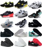 Men %26 Women Sneakers for sale - 26 Colors Available Men Sneakers Shoes Classic 90 Men and women Running Shoes Sports Trainer Air Cushion 90 Surface Breathable Sports Shoes