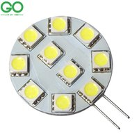 Wholesale Candle Boat - Wholesale- G4 2W LED Bulbs Candle Lights 24V 12V Dimmable PWM Equal 15W Halogen Lamp For Car Auto Driving Boat Truck Marine Led Lighting
