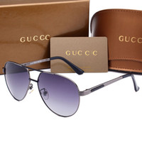 Wholesale European Sunglasses Brands - High-quality imported materials polarized European brand sunglasses fashion designer glasses outdoor travel eyeglasses with box