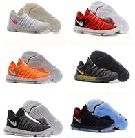 Wholesale Bird Cushions - KD 10 X Oreo Bird of Para Basketball Shoes for Good quality Kevin Durant Bounce Airs Cushion Athletic Shoes Sports Baby, Kids Size7-12