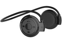 Wholesale Earplugs Mic - NEW Mini rear hanging type sports Bluetooth earphone stereo music Bluetooth earphone earplug type vehicle wireless Bluetooth headset univers