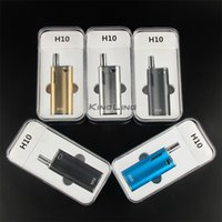 Wholesale Ce3 Starter Kit - Wholesale H10 Mystica VV Mini Vaporizer Cartridge Oil BUD Starter Kit 650mah Box Mod Gold Vape Pen Cartridges With CE3 Atomizer