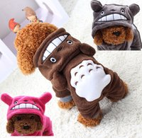 Wholesale Pet Tiger - Cute warm tigers transfiguration teddy puppy clothes pet coat fashion pet clothes puppy clothes XS-XXL