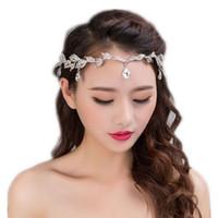 Corona di diademi in argento con accessori per capelli da sposa in strass.  Copricapo da sposa con copricapo per accessori da copricapo da sposa 640868e06742