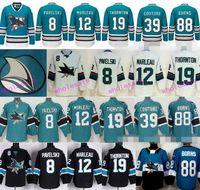 Wholesale Wholesale Sharks Jersey - San Jose Sharks Ice Hockey Jerseys Stadium Series 8 Joe Pavelski 12 Patrick Marleau 19 Joe Thornton 39 Logan Couture 88 Brent Burns 48 Hertl