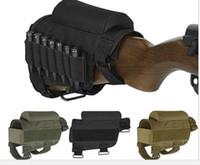 TOURBON Tactical Rifle Buttstock Bullet Holder Verstellbare Patronentasche Airsoft