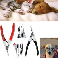 Wholesale Clipper For Pet Dog - Good Quality Pet Nail Toe Clipper Cutter for Dogs Cats Birds Guinea Pig Animal Claws Scissor Cut YYA662