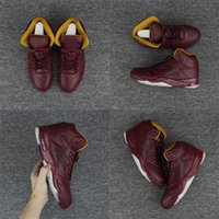 Wholesale Cheap Shopping - 2018 Hot cheap 5 Bordeaux basketball shoes A+++ sneaker free shopping discount sport shoes wine red all black man outdoor shoes