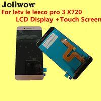 lcd film değiştirme toptan satış-Toptan Satış - Yüksek kalite Letv le leeco pro 3 X720 LCD Ekran + Dokunmatik Ekran + cam film Digitizer Assembly Replacement Aksesuarları