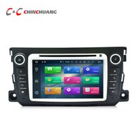 Android 6.0 Octa Core Car DVD Player para Benz SMART 2012-2015 com rádio GPS Navi Wifi DVR Mirror Link