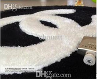 Wholesale Shaggy Bedroom Rugs - Free shipping 70cm*70cm fashion super soft carpet modern shaggy rugs and carpets for home living room, for kitchen