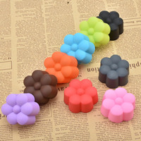 Wholesale Tulip Shaped Mold - Wholesale- 5cm Tulips Shaped Fondant Mold, Candy Resin Molds, Silicone DIY Soap Mold, Silicone Cake Mould,Fondant Cake Decorating Tools