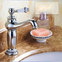 Wholesale Imitation Faucets - Free shipping Contemporary Imitation jade Rose Gold Sink Faucet with Single Hole Single handle and Air Babble Former  Faucet For Kitchen