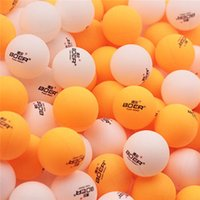 Wholesale Table Tennis Balls Quality - Good Quality Professional 40mm White Yellow Table Tennis Balls 150pcs Bag with Retail Box Ping Pong Balls for Leisure and Match 2526009