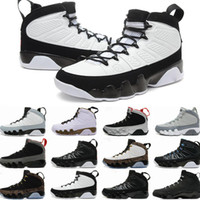 Wholesale Mesh Touring - Air retro 9 men basketball shoes OG Space Jam cool grey Anthracite Barons The Spirit doernbecher 2010 release Tour Yellow PE sports Sneaker