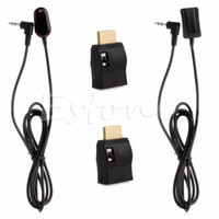Wholesale ir receiver cable - Wholesale- 1Pc IR Extender Over HDMI Remote Control Extender Receiver Transmitter Cable Kit