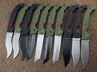 büyük kamp toptan satış-Bırak 10 Türleri Soğuk Çelik Bıçaklar XL-SIZE VOYAGER Serisi Büyük Katlanır Bıçak Utility Survival Bıçaklar Avcılık Taktik Açık Kamp Aracı
