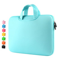 "Wholesale 14 Inch Laptop Apple - Macbook Sleeve Laptop bag Air Pro Retina Soft Case Cover Bag for Apple handbag Notebook 12"" 13"" 14"" 15"" 15.6"" inner bag"