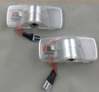 Wholesale Honda Accord Doors - 2 x LED For Honda Accord Crosstour Car Door Welcome Logo Light Projector Courtesy Laser Ghost Shadow