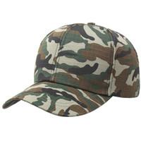 Wholesale Summer Bonnets - Whosale Summer Army Hat Baseball Cap Camouflage Caps Snapback Outdoor Sports Hat For Women Men Casquette Bonnet Gorras