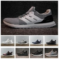 2018 vente chaude Ultra Boost 3.0 4.0 oreo Blanc Noir cool Chaussures cny Hommes femmes Chaussures de Course Taille US 5-12