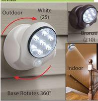 Wholesale Art Cabinet - 360 degree rotating LED human body sensor lamp bedroom night light cabinet wardrobe lamp corridor ceiling light