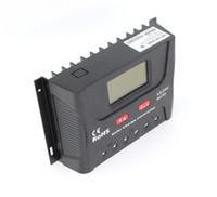 controlador solar 36v al por mayor-12V / 24V / 36V / 48V 30A PWM Controlador de carga solar para sistema solar doméstico