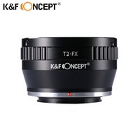 Wholesale Dslr Camera Body - Wholesale- K&F CONCEPT Lens Mount Adapter Ring for Adjustable Copper T2 T Telescope Lens to Fujifilm FX Mount Adapter DSLR Camera Body