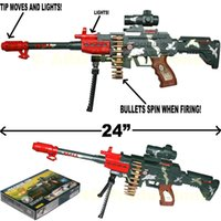 Wholesale Toy Assault Guns - SWAT RIFLE ASSAULT MACHINE GUN TOY FX REALISTIC LOUD SOUNDS LIGHTS NEW IN BOX