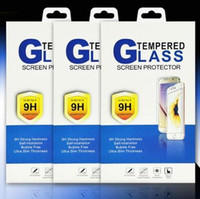 Wholesale Wholesale Oem Iphone Glass - Border Retail Package Boxes Packaging for Tempered Glass 9H Screen Protector for iphone 6S 7 Plus Samsung S7 Edge S8 Big treasure OEM