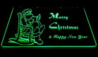 LD006-g-Merry-Christmas-Neon-Light-Sign Decor Livraison gratuite Dropshipping en gros 6 couleurs à choisir