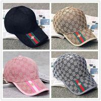 Wholesale Snapback Cool Brand - Fashion Baseball Cap Casual Cap Men's Women Outdoor Sports Adjustable Baseball Caps Hip Hop Snapback Cool G Pattern Hats Cap New Brand Hat
