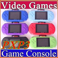 Wholesale Pocket Game Player - Hot selling16 Bit Video Game Player PXP3 PXP Slim Station Pocket Game + Game Card + Retail Box A-YXJ