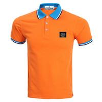 Wholesale T Shirt Stone Island - 2016 Men Clothes Solid Color short Sleeve STONED T-Shirt Men Cotton T-Shirt Casual island T-Shirts XS-3XL