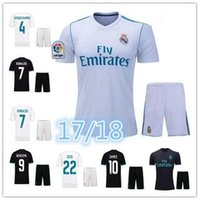 Wholesale 2017 Real Madrid Soccer jersey adult kits Ronaldo MODRIC BALE KROOS ISCO BENZEMA football shirts Camisa JAMES jerseys