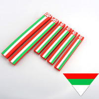 Wholesale Mirror Flags - 6PCS Car Styling Italy Flag Door Edge Guard Protector Rear View Mirror Anti-scratch Stripe Bar for Fiat Panda Punto 124 125 500 Abarth