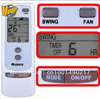 Wholesale gree remote control for sale - Group buy pieces GREE Split And Portable Air Conditioner Remote Control Y512 Parts