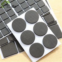 Wholesale Rubber Furniture Protectors - Wholesale- You And Me Furniture Floor Protector Felt Pads Thicken Soft Rubber Table Leg Pad Chair Mat Furniture Protection Anti Scratch