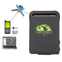 Wholesale Spy Car Gps Tracking Device - New Quality Eu Plug marking Car Vehicle GPS GSM GPRS Tracker with SOS Over-speed Alarm Mini SPY Vehicle Tracking Locator Device