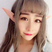 Mysterious Angel Elf Ears Party Accessori Accessori Cosplay LARP Halloween Party Latex Soft Pointed Prosthetic Suggerimenti Orecchie false