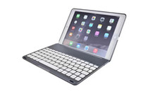 Cheap Folding Folio Case bluetooth keyboard Best 9.7'' Aluminum ipad smart cover