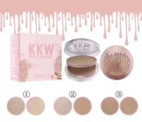 Wholesale Mix Deck - HOT NEW kylie kkw Collection Face Powder Double-deck 3 color DHL Free shipping