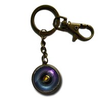 Wholesale Vintage Quality Camera - Vintage Key Accessories High Quality Steampunk Camera Keychain DIY Glass Photo Camera Lens Car Key Chain For Women Men Gift NS115