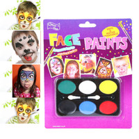 Wholesale big paintings for drawing for sale - Group buy Body Paint Lovely Children Festival Face Painting Craft Face Deco Kids Party Makeup Best Gift for Children