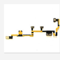 Wholesale Ipad Rotatable - NEW Original Proximity Light Sensor Power on off Button Volume Control Flex Cable Ribbon Repair Parts for ipad2 ipad 3 4 5