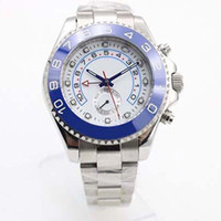 Wholesale Master Ii - 2017 Hot Sale Mens Watch YACHT II 116680 Automatic Mechanical Ceramic Bezel Sapphire Glass Original Clasp Master Men Watches Stainless Stee