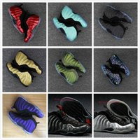Wholesale canvas shoes black colour - 32 Colours (With Box)New Model High Quality Penny Hardaway Red Suede Men's Basketball Sport Footwear Sneakers Shoes