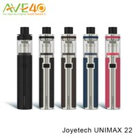 Wholesale Bfl Single - Authentic Joyetech Unimax 22 Kit with 2200mAH Battery Capacity 2ml Unimax 22 Atomizer and New BFL Coils VS Vfeng RX GEN3 Smoant Charon