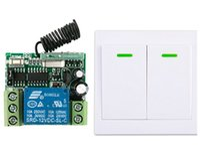 Wholesale Digital Wireless Remote Power Switch - Wholesale- New digital Remote Control Switch DC12V Receiver Wall Transmitter Wireless Power Switch 315MHZ Radio Controlled Switch Relay
